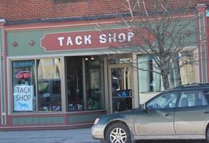 Tack shop