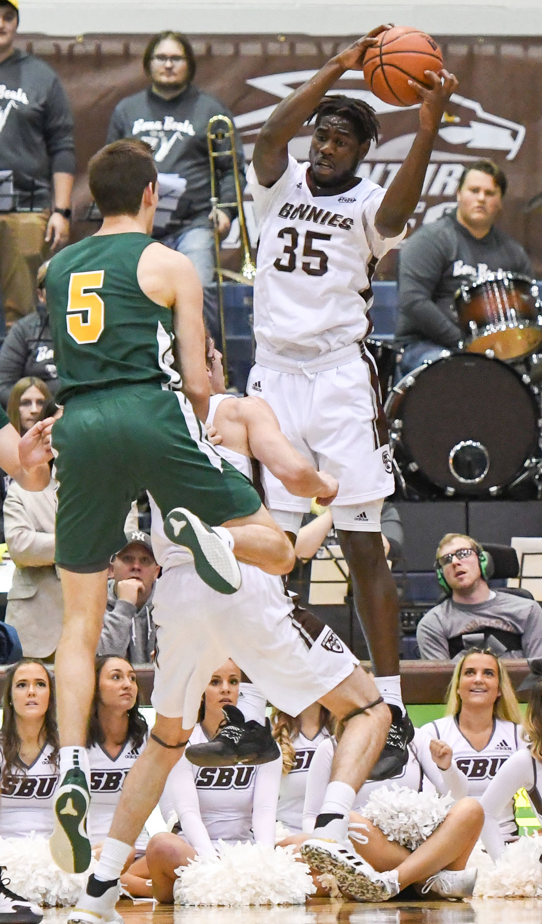 Bonnies' shooting struggles continue in loss to Vermont