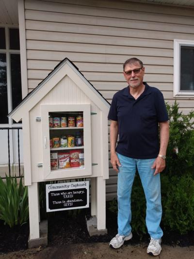 Smethport Alliance Church builds community cupboard for those in need of food
