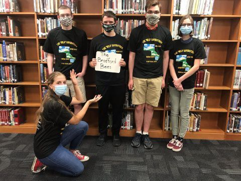 Bradford Bees win the virtual 'Wild' Envirothon