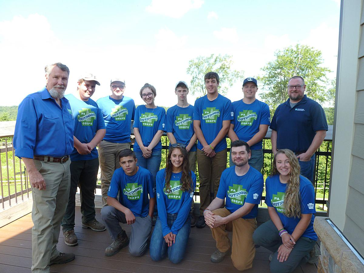 DCNR deputy secretary attends program for Pa. Outdoor Corps