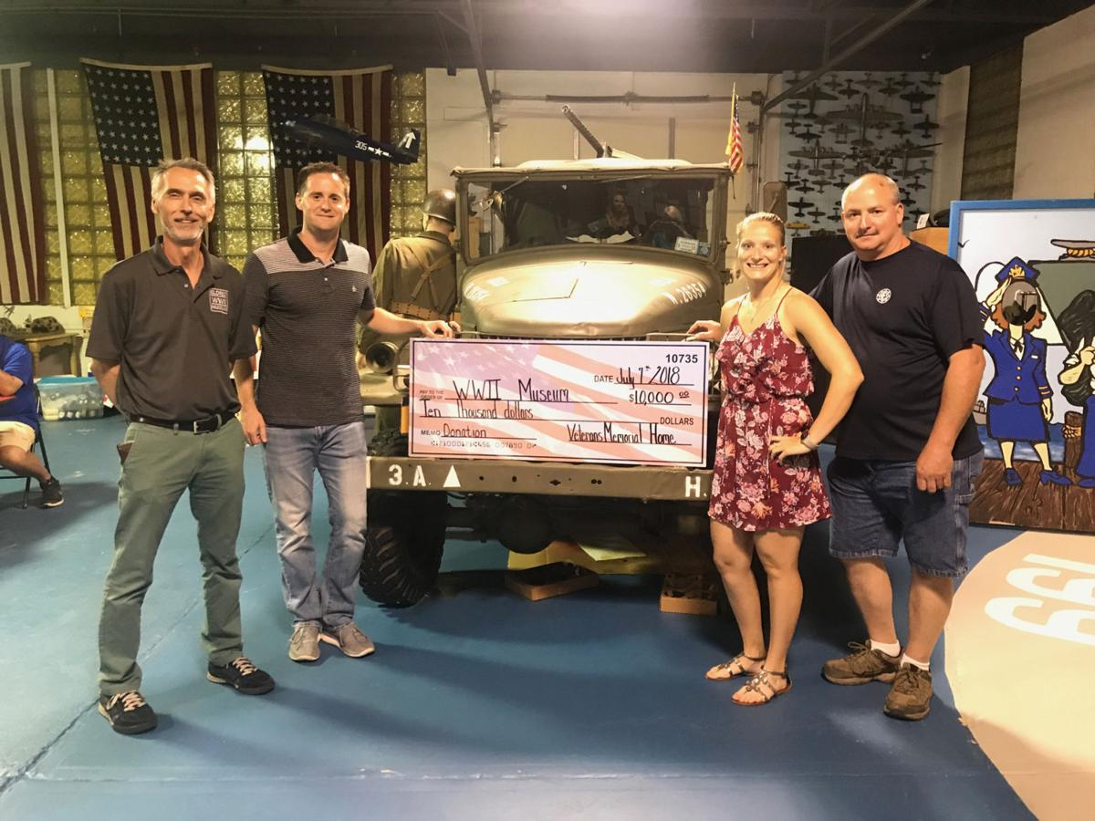 WWII Museum Donation