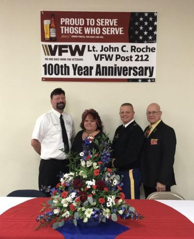 Lt. John C. Roche VFW Post 212 celebrates centennial birthday