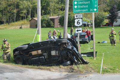 Four injured in East Smethport accident | Bradford