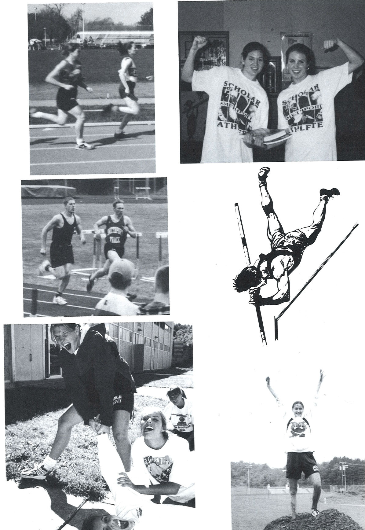 The 1997 Smethport girls track and field team