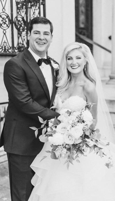 Valenti, Farrell wed