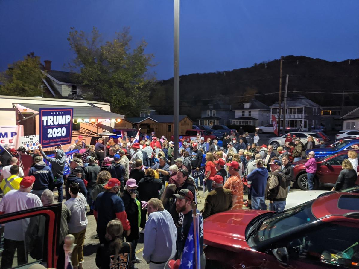 Trump supporters rally