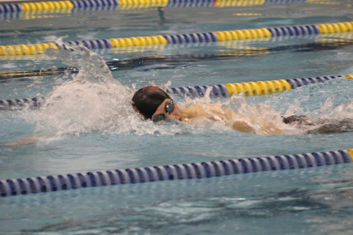 bradford swimming falls to st marys sports