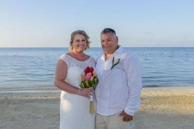 Randolph, Frisina marry in Jamaica