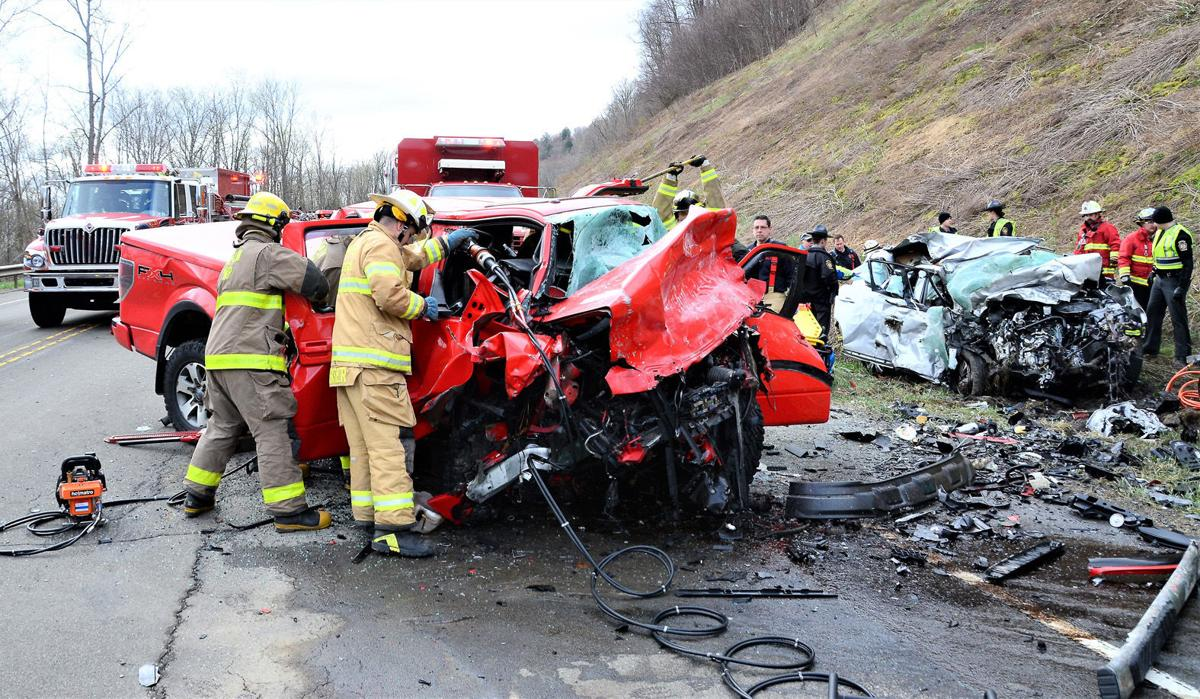 Four killed, one seriously injured in Hamlin Twp  crash