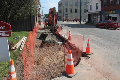 Congress Street work