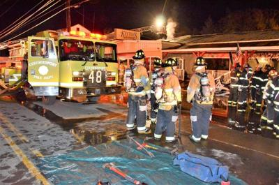 One displaced after fire at Kaytee's in Coudersport