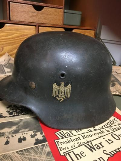 Eldred WWII Museum German Helmet