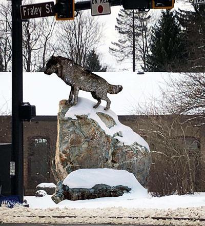 Wolf rendering