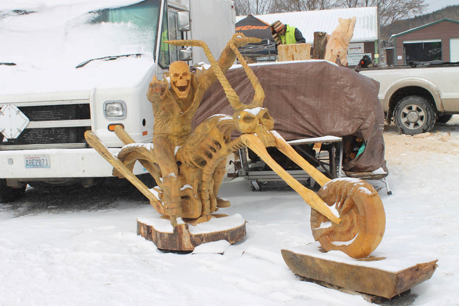 World famous carving event in ridgway this week news