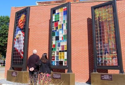 Serenity Glass Park continues work on Wall of Inspiration