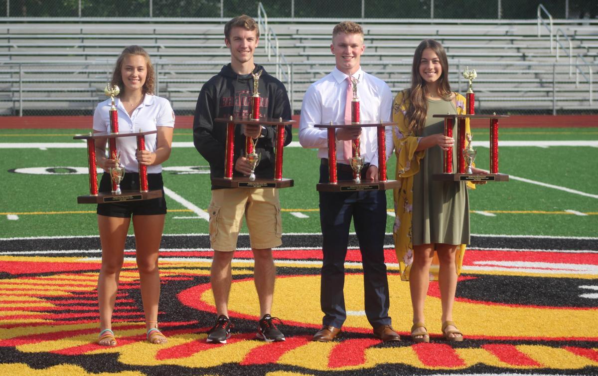Nuzzo, Marshall named BAHS' Athletes of the Year