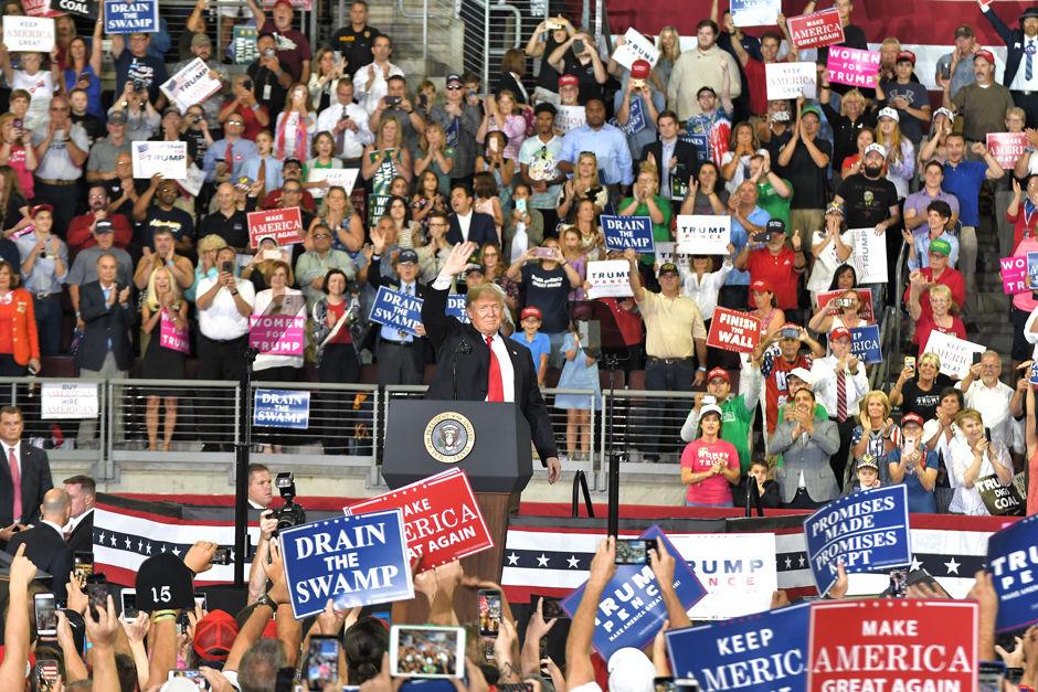 Trump visits Erie