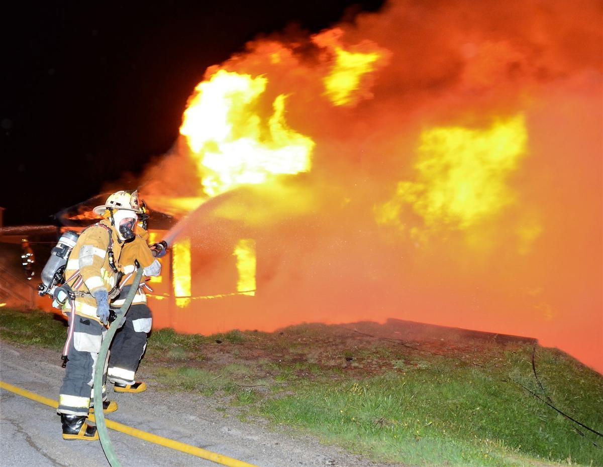 Firefighters battle High Street blaze early Sunday