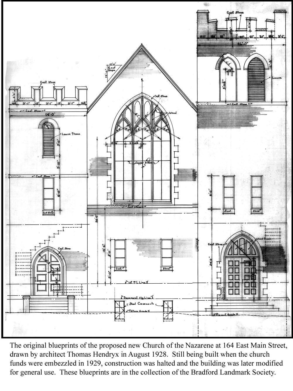 Blueprints for the Church that never was