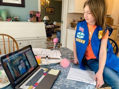 Girl Scout programming continues into fall, offers new virtual troops