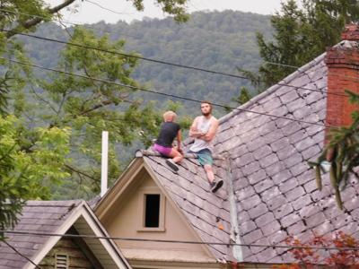 Roof incident
