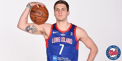 Nate Sestina Long Island Nets