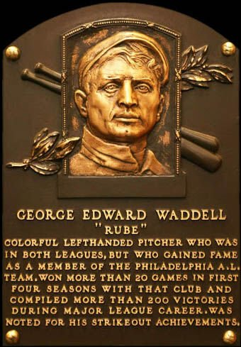 Some stories on Rube Waddell, Bradford's most famous pro athlete