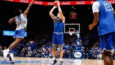 Sestina anchoring top-ranked Kentucky hoops