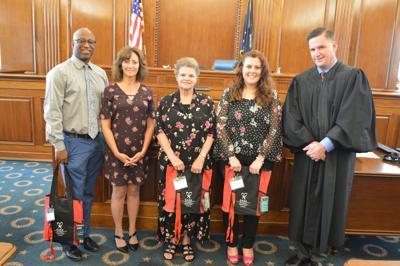 Four sworn in as new CASA volunteers