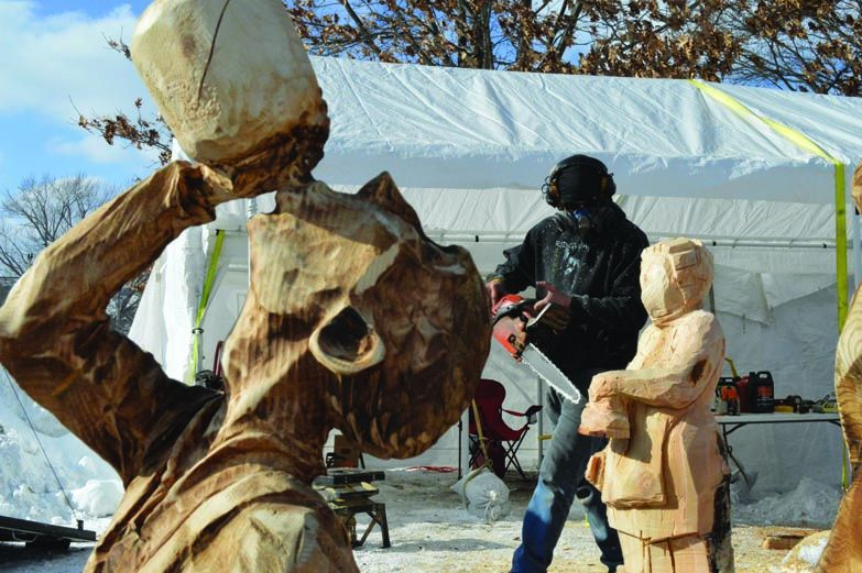 Ridgway chainsaw carvers rendezvous wraps up successful