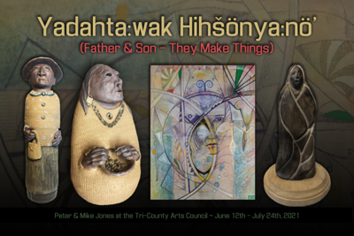 Tri-County Arts Council to exhibit neo-traditional works by Iroquois artists
