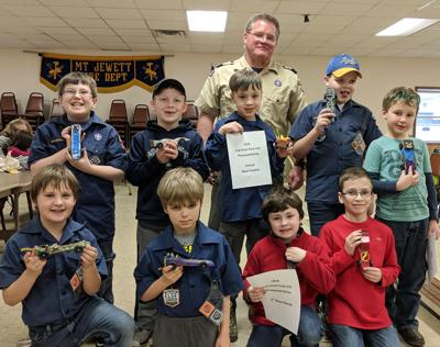 Cub Scouts Compete At Pinewood Derby