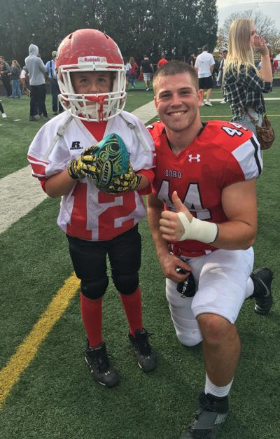 Ryan Stratton begins life after college football by serving country
