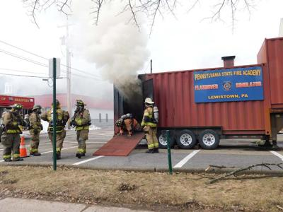Bradford firefighters get critical training in 'flashover