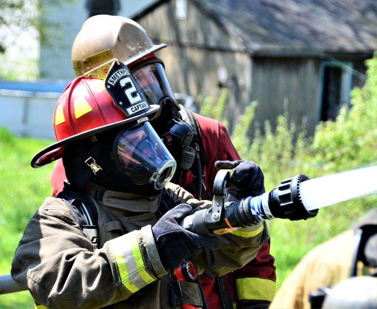 Tri-County Fire School holds structure burn class