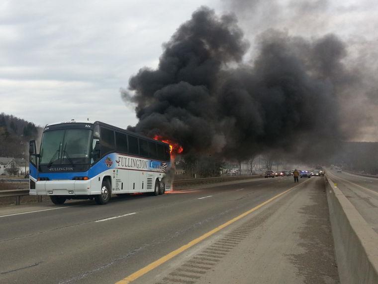 Bus On Fire Photos Bradfordera Com