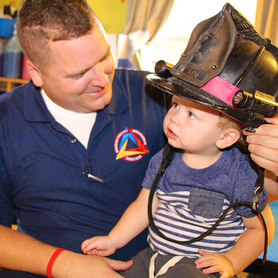 Port Allegany firefighters celebrate Fire Prevention Week