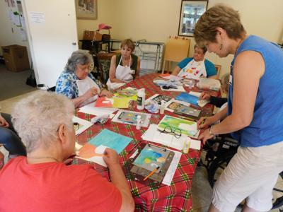 Seniors create
