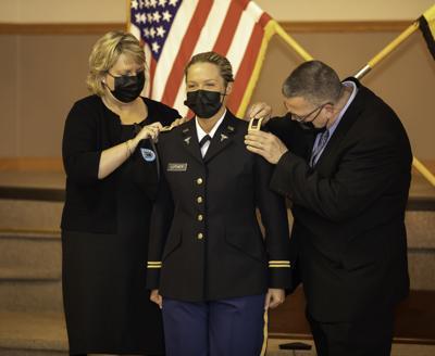 St. Bonaventure ROTC battalion recognizes new second lieutenants in the U.S. Army