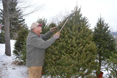 Kerry Fetter of Fetter's Tree Farm