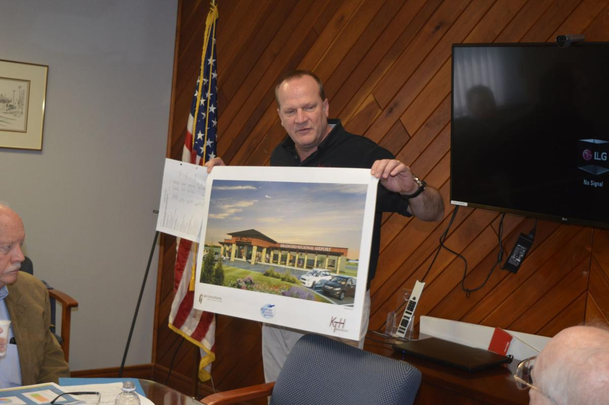 Airport authority hears update on terminal rehab project