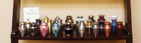 Cremations urns