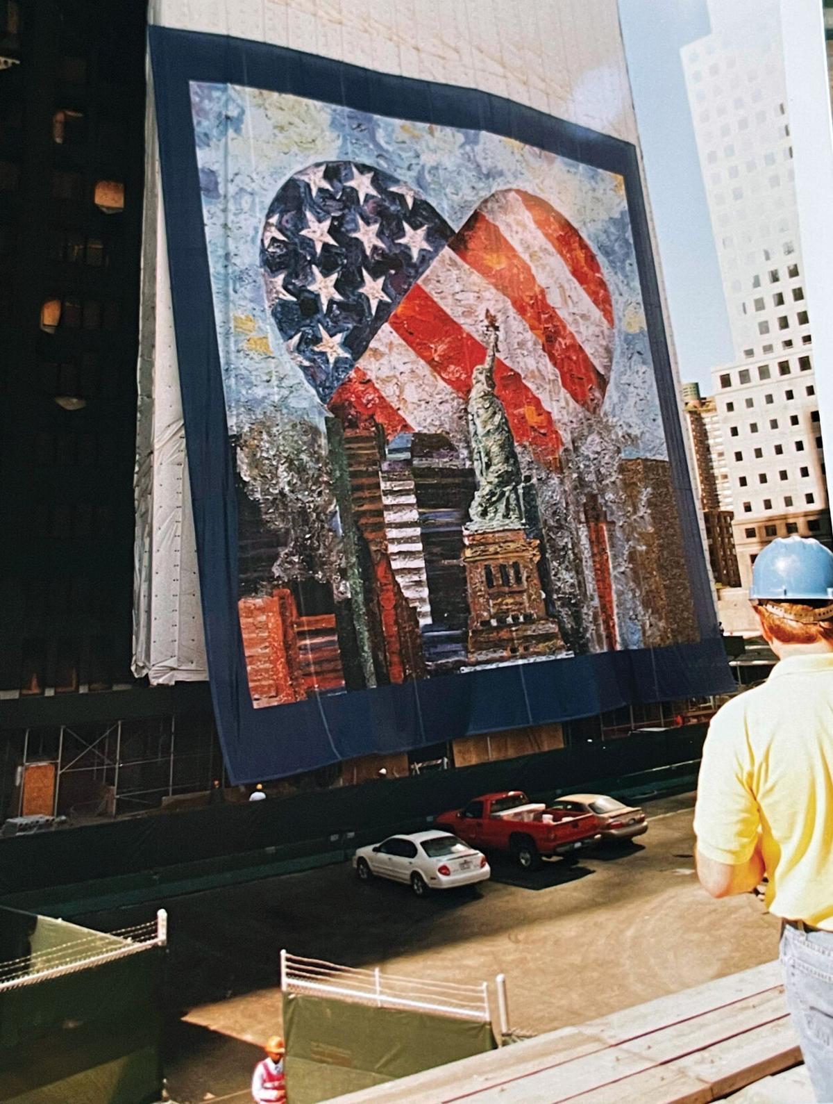 Yakov Mural Being Installed in New York