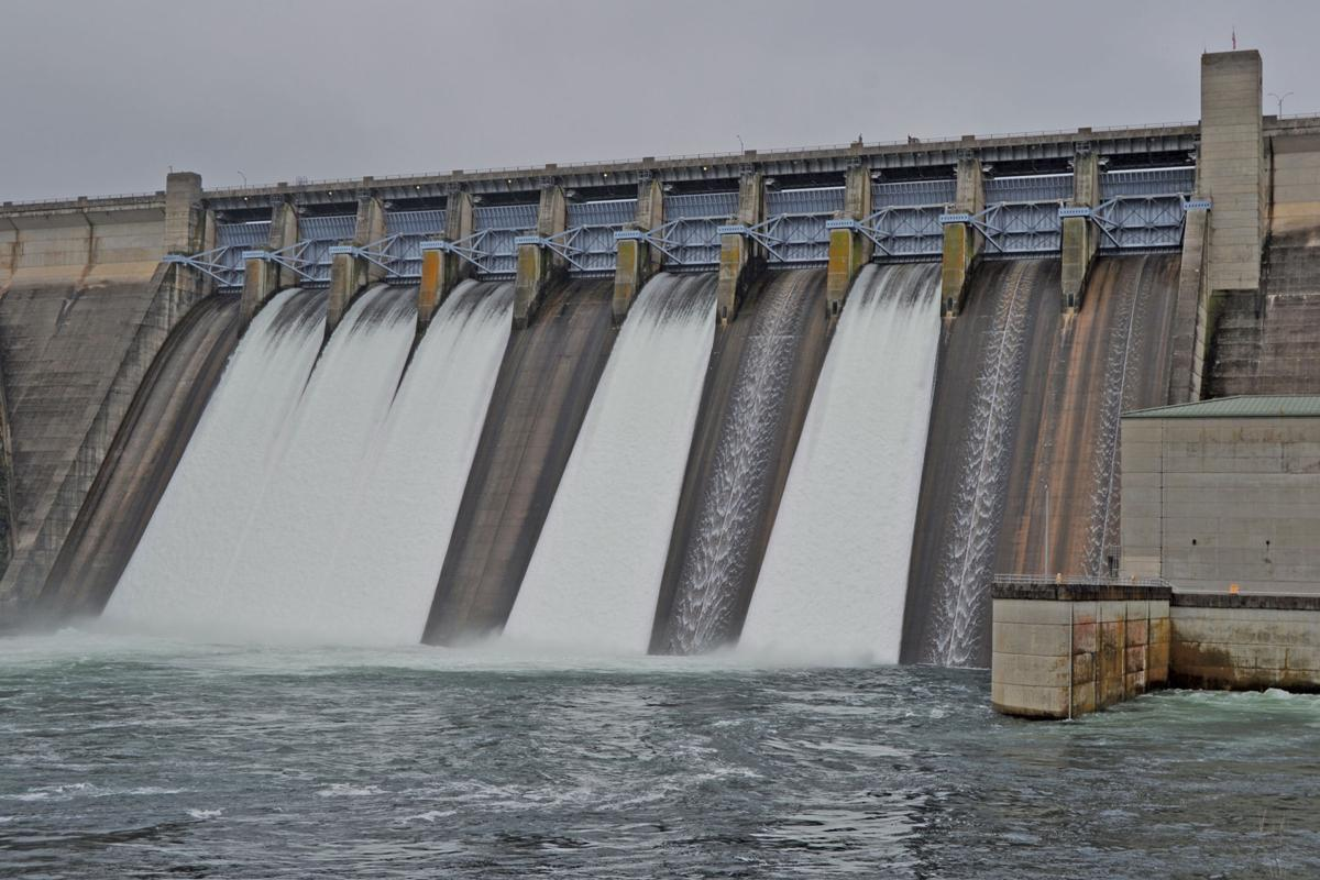 More Spillways Opened At Table Rock Dam