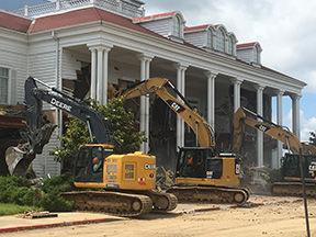 Grand Palace demolition
