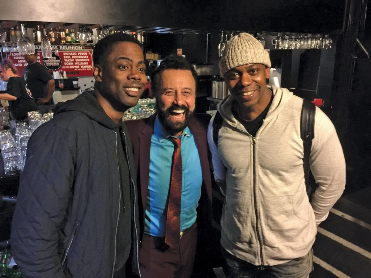 Yakov with Chris Rock and Dave Chappelle.jpg
