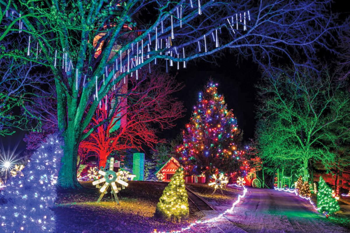 Adventure, lights, shows for Christmas at Shepherd of the Hills