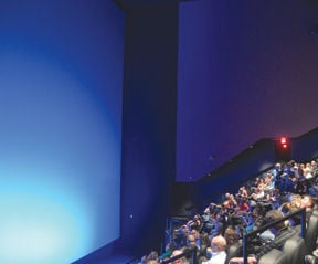 0816741f5ea More than 300 people showed up for the unveiling of the newly renovated and  remodeled giant screen Imax theater at the Branson Imax Entertainment  Complex ...