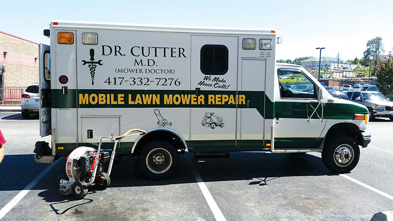 The Mower Doctor Is In Just In Time For Spring Business